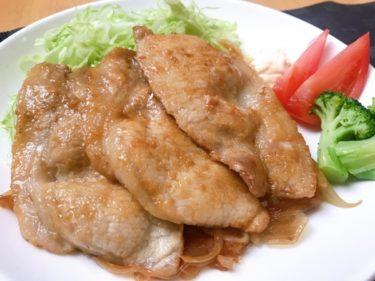 [甘々と稲妻再現]豚肉の生姜焼き