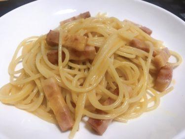 [甘々と稲妻再現]スパゲティカルボナーラ