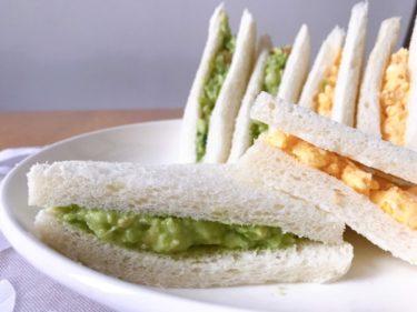 [甘々と稲妻再現]サンドウィッチ